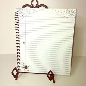 Spider HALLOWEEN Think Doodle Notebook School